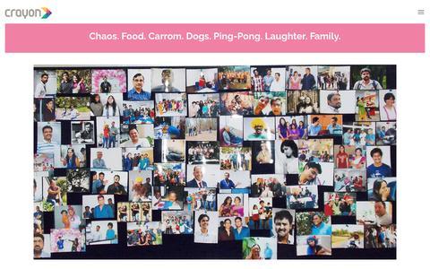 Screenshot of crayondata.com - Life at Crayon | Working at Crayon Data | Startup Careers - captured Feb. 5, 2017