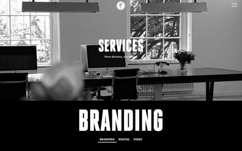 Screenshot of Services Page flirtcreativity.com - Services - Branding | We build brands to fall in love with | Flirt Creativity - captured June 6, 2017