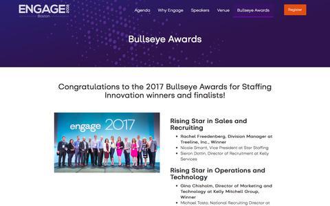Bullseye Awards - Engage 2018 NA
