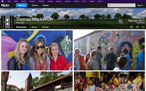 Screenshot of Flickr Page flickr.com - Flickr: Hvite busser's Photostream - captured Oct. 23, 2014