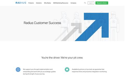 Radius Customer Success • Radius