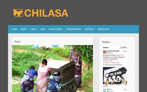 Screenshot of Team Page chilasa.org - Team | - captured Oct. 2, 2014