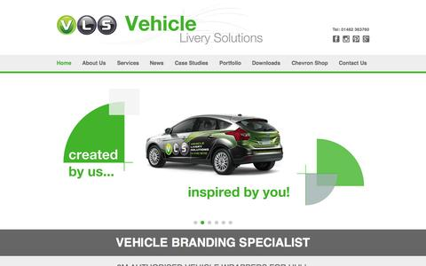 Screenshot of Press Page vehicleliverysolutions.co.uk - Quality Vehicle Branding | Vehicle Livery Solutions - captured Aug. 17, 2015