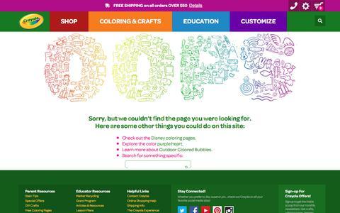 Error Page | crayola.com