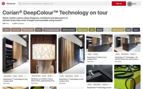 136 best Corian® DeepColour™ Technology on tour images on Pinterest | Corian, Nocturne and Dark shades