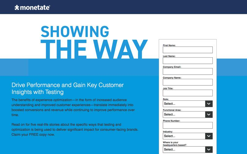 Showing The Way — Drive Performance and Gain Key Customer Insights with Testing | Monetate