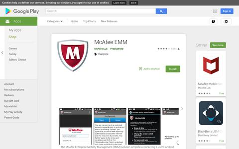 McAfee EMM - Apps on Google Play