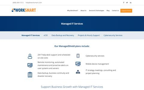 Managed IT Services - Raleigh, Durham, Charlotte