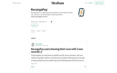 RecargaPay – Medium