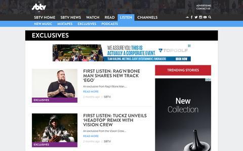 Exclusives - SBTV