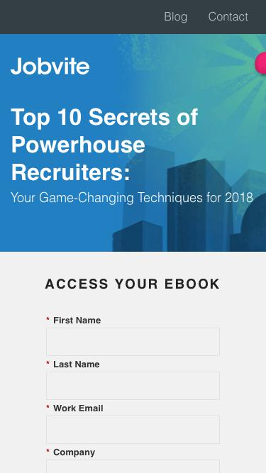Top 10 Secrets of Powerhouse Recruiter