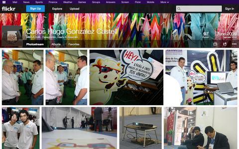 Screenshot of Flickr Page flickr.com - Flickr: MilkZoft.CoM - Capacitación, Diseño & Desarrollo's Photostream - captured Oct. 26, 2014
