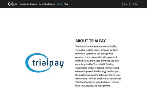 About - TrialPay