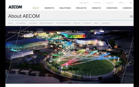 About AECOM   AECOM