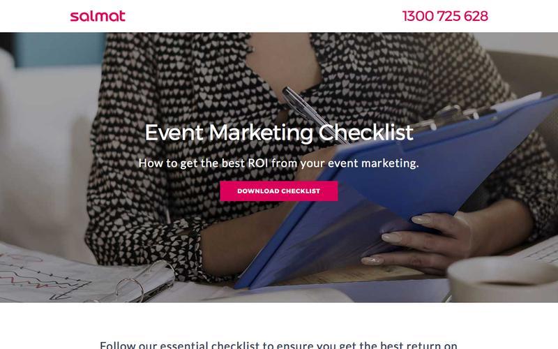 Salmat – Event Marketing Checklist
