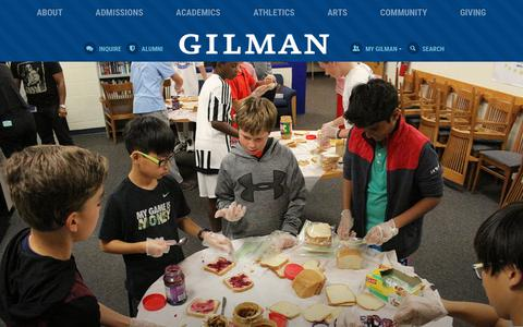 Gilman School | K-12 Private School for Boys in Baltimore, MD
