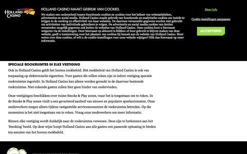Rookbeleid - Holland Casino