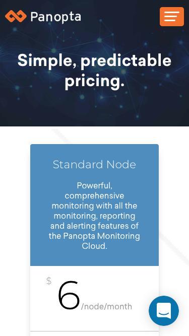 Screenshot of Pricing Page  panopta.com - Pricing • Panopta