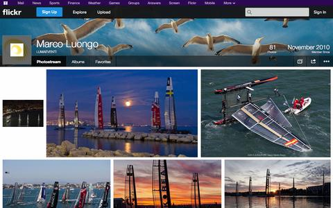 Screenshot of Flickr Page flickr.com - Flickr: LUMAEVENTI's Photostream - captured Oct. 23, 2014