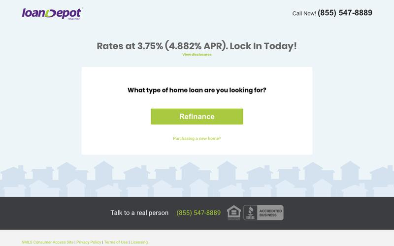 loanDepot -  Start Saving Now!