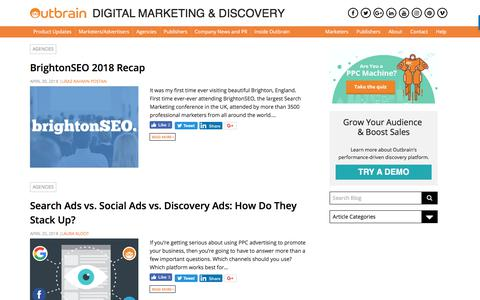 Digital Marketing & Content Discovery | Blog | Outbrain - Page 5