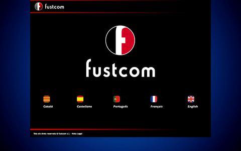 Screenshot of Home Page fustcom.com - Fustcom - captured Oct. 6, 2014