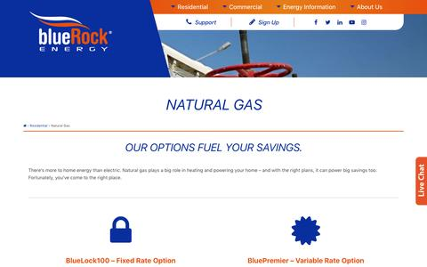 Natural Gas - BlueRock Energy
