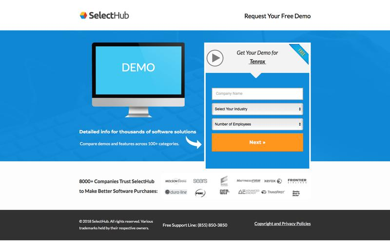 Get Demo Information for Tenrox