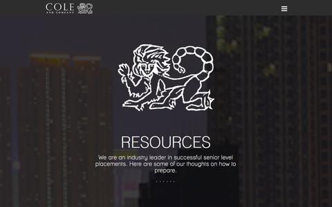 Screenshot of Blog cole.jp - Blog   Cole & Company - captured Oct. 8, 2014