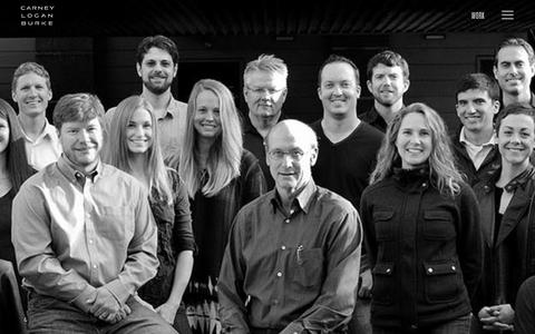 Screenshot of Team Page clbarchitects.com - All Of Us - Carney Logan Burke Architects - captured Jan. 25, 2016
