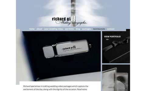 Screenshot of Testimonials Page richardgill.ie - Testimonials For Special Memories Captured In Wedding Videos - captured Oct. 26, 2017