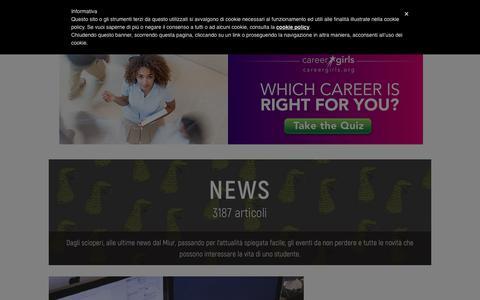 Screenshot of Press Page scuolazoo.com - News - ScuolaZoo - captured Nov. 6, 2018