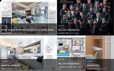 Screenshot of Press Page comododesign.com - Blog   Comodo Interior Design Ltd. - captured Nov. 9, 2018