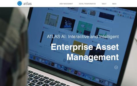 Screenshot of Team Page asset-atlas.com - ATLAS - Socialized Asset Management | ATLAS AI - captured Sept. 29, 2018