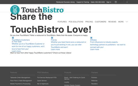 Referrals - TouchBistro
