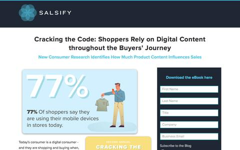 E-book: Consumer Research Report - Cracking the Code