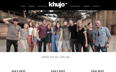 Screenshot of Jobs Page khujo.com - Careers - Khujo™ - captured Jan. 24, 2016