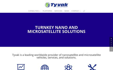 Tyvak Inc. - Terran Orbital Corporation | Tyvak is a leading worldwide provider of nanosatellite and microsatellite vehicles, services, and solutions.
