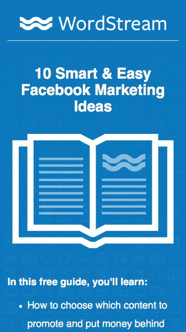 10 Smart + Easy Facebook Marketing Ideas