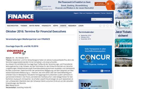 Oktober 2016-FINANCE Magazin