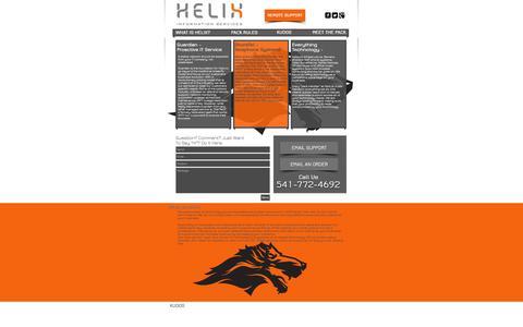 Screenshot of Blog helixinc.com - Helix Information Services - IT Support - captured Oct. 2, 2014