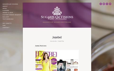 Screenshot of Press Page sugarplum-visions.com - Media — Put A Fork In It! - captured Sept. 30, 2014