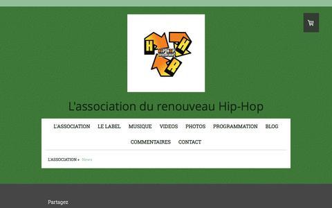 Screenshot of Press Page hiphopregenerates.com - News - HipHopRegenerates Web site! - captured May 10, 2017