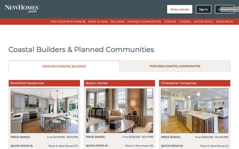 New Coastal Homes On The Eastern Shore - New Homes Guide