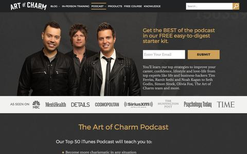 Lifestyle Podcast | The Art of Charm by Jordan and AJ Harbinger