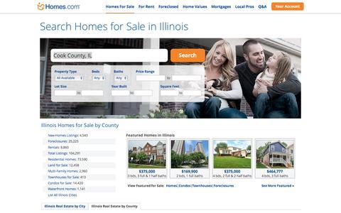 Illinois Homes for Sale | Homes.com