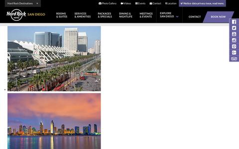 San Diego Convention Center Hotel – Boutique Suites at Hard Rock Hotel SD