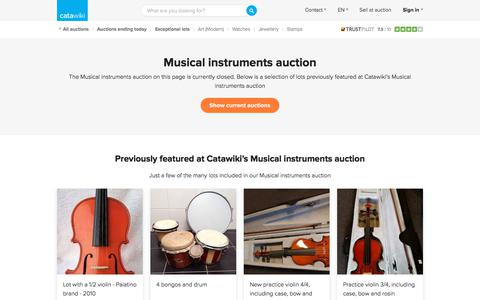Musical instruments auction - Catawiki