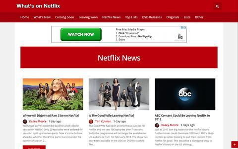 Netflix News - Whats On Netflix