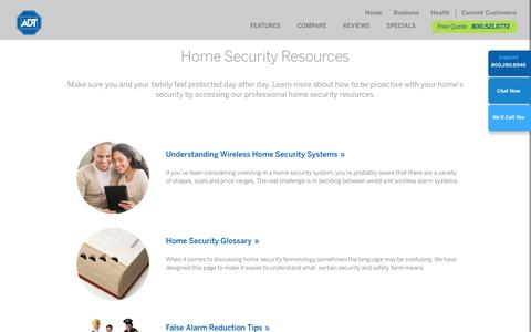 Wireless Home Security Systems | False Alarms in the Home | ADT